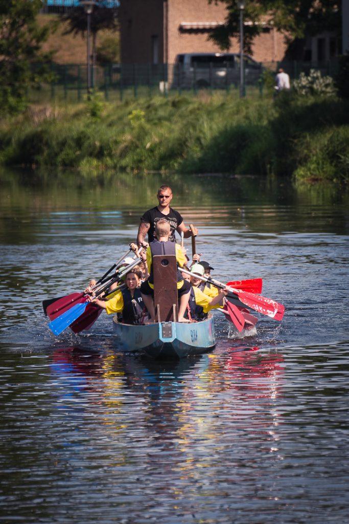 Die MOZ berichtet über das Drachenbootrennen